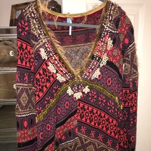 Free people festive tunic